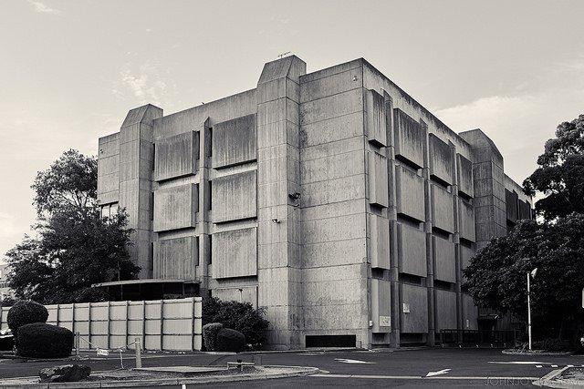 Footscray Psychiatric Centre later known as Footscray Psychiatric Hospital © JohnJovic.com