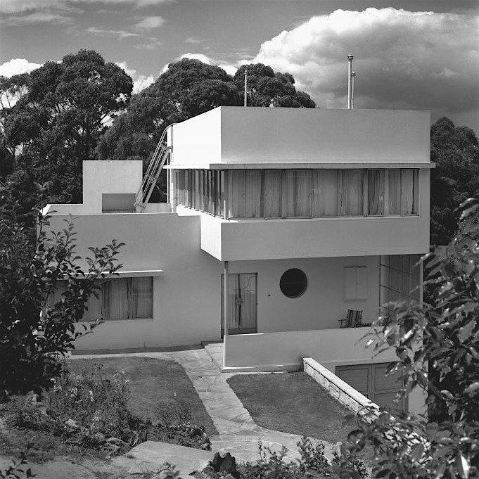 Hillman House, design: Henry Epstein, 1948-1949