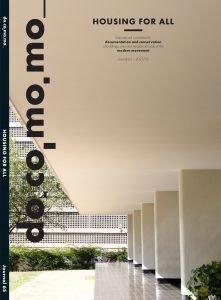 Cover Docomomo Journal 63. Housing for All